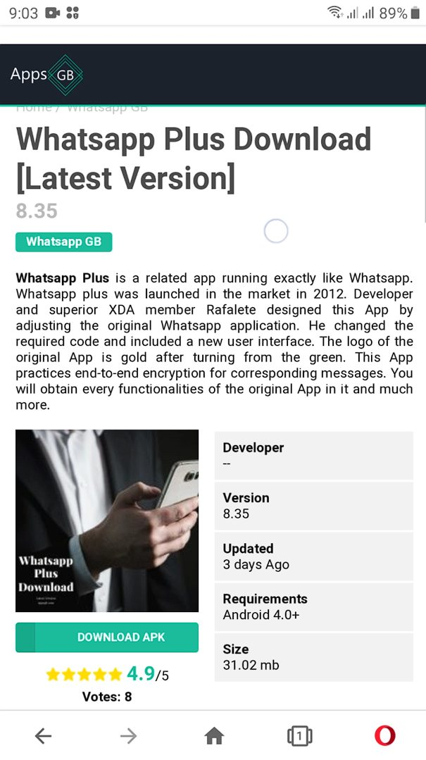 whatsapp plus how to download